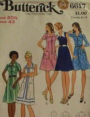 Butterick 6617 (BecPine) Tags: from cant stop etsy buying vintagepattern i