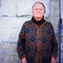 grandmother (Eldar Zeytullaev) Tags: portrait 6x6 fuji medium format velvia100 crimea yashica124g