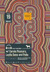Jasabcarolapisaturo (jasab) Tags: party music club night poster design dance dj sofia no label culture clubbing event bulgaria heads beat dane carola guest booking polla 2011 dosio laylla pisaturo jasab dosev