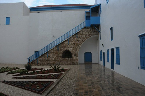 Courtyard in House of `Abdu'lláh Páshá