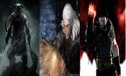 The Roleplay Truel: Dragon Age 2 Vs.The Witcher 2 Vs. Skyrim