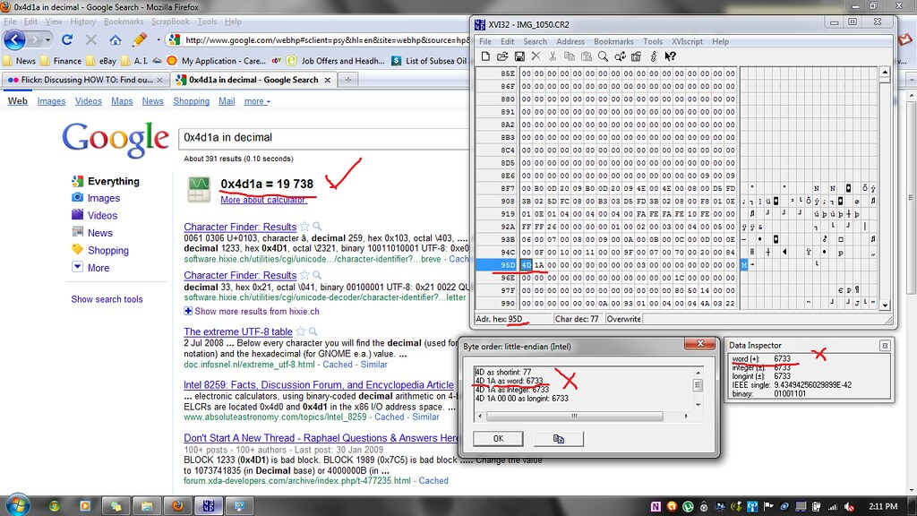 Flickr: Discussing HOW TO: Find out number of shutter actuations on