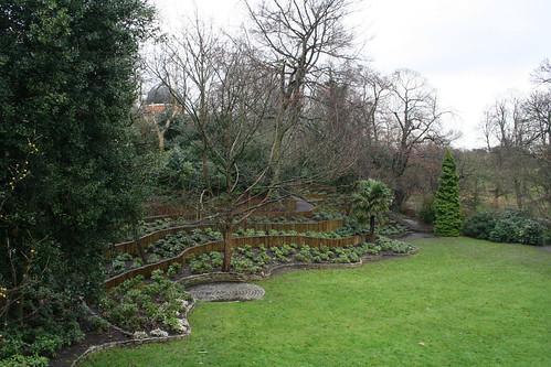 "The ""secret garden"" behind the Observatory"