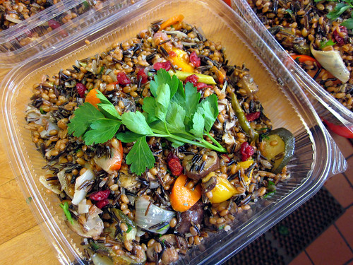 wild rice salad, boxed