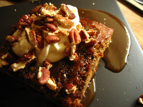 "sticky toffee ""pudding"""