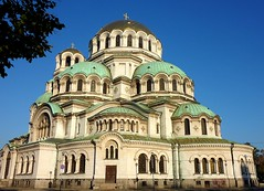 The St. Alexander Nevsky Cathedral in Sofia (Frans.Sellies) Tags: church cathedral sofia kathedrale kirche bulgaria orthodox cathedrale bulgarie orthodoxchurch bulgarije bulgarien  bulharsko bulgaristan           p1280771