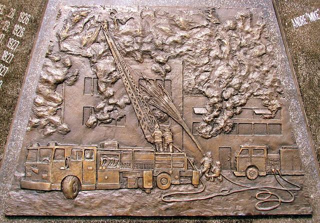 Louisville, KY's Firefighter Memorial
