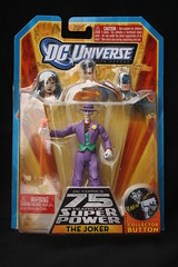 DC Universe- 75 years of Super Power Joker Figure