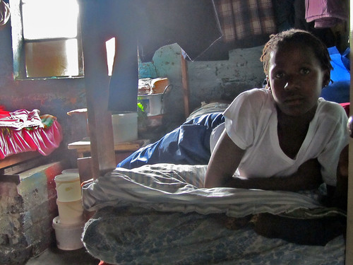 Girl in a Hostel in Langa, Cape Town