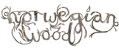 Norwegian Wood typography (Heidi Burton / Making Strangers) Tags: wood art texture film illustration handwriting typography graffiti book wooden words artwork handmade background traditional text grain arts handpainted type novel murakami lettering calligraphy handwritten harukimurakami handdrawn norwegianwood anhhungtran