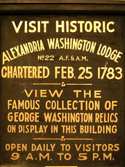 Old Masonic Sign by M.V. Jantzen