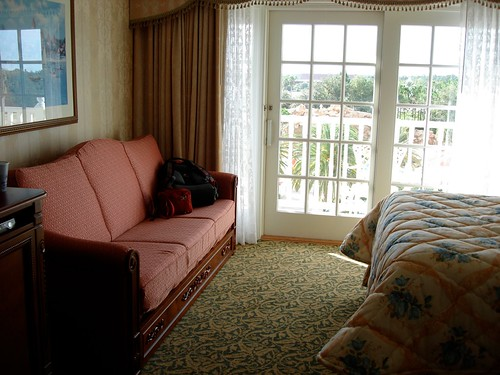 Day Bed at the Grand Floridian