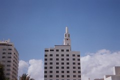 South Beach Deco (Phillip Pessar) Tags: camera film 35mm toy hotel fuji florida el 200 artdeco miamibeach deco southbeach riteaid sobe c41 meikai