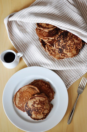 Spiced Teff Pancakes