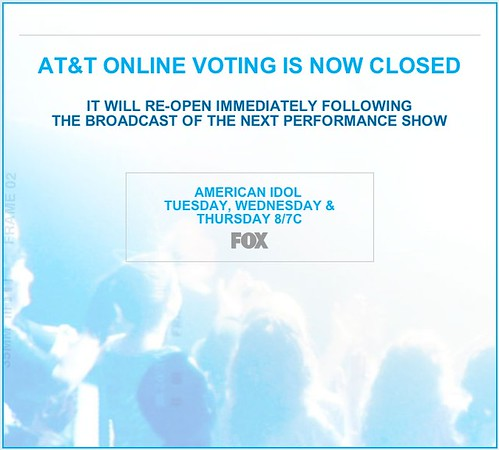 American Idol VOTING CLOSED