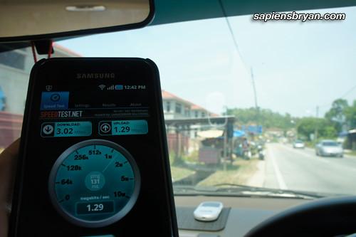 Maxis Wireless Broadband Speed At Air Puteh, Balik Pulau