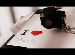 I love you... (Rockabella Anne) Tags: camera love heart letter brief herz liebe kamera schlsselanhnger 365project