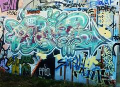 graffiti la rochelle, mur somelec (thierry llansades) Tags: streetart wall graffiti mural graf spray peinture urbanart painter 17 graff larochelle aerosol bombing graffitis fresque frenchgraff perigny somelec