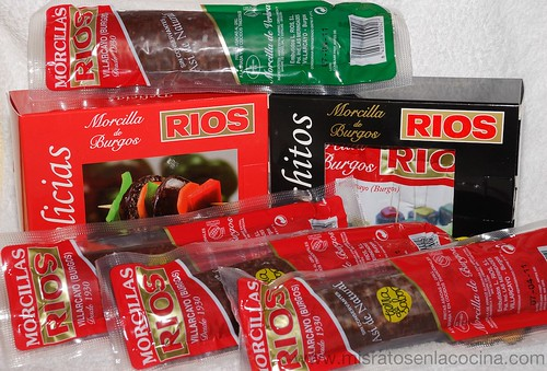 Morcillas de Burgos RIOS