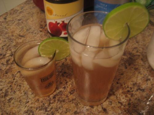 The Pumpkin Patch: Green Tea Pomegranate Limeade