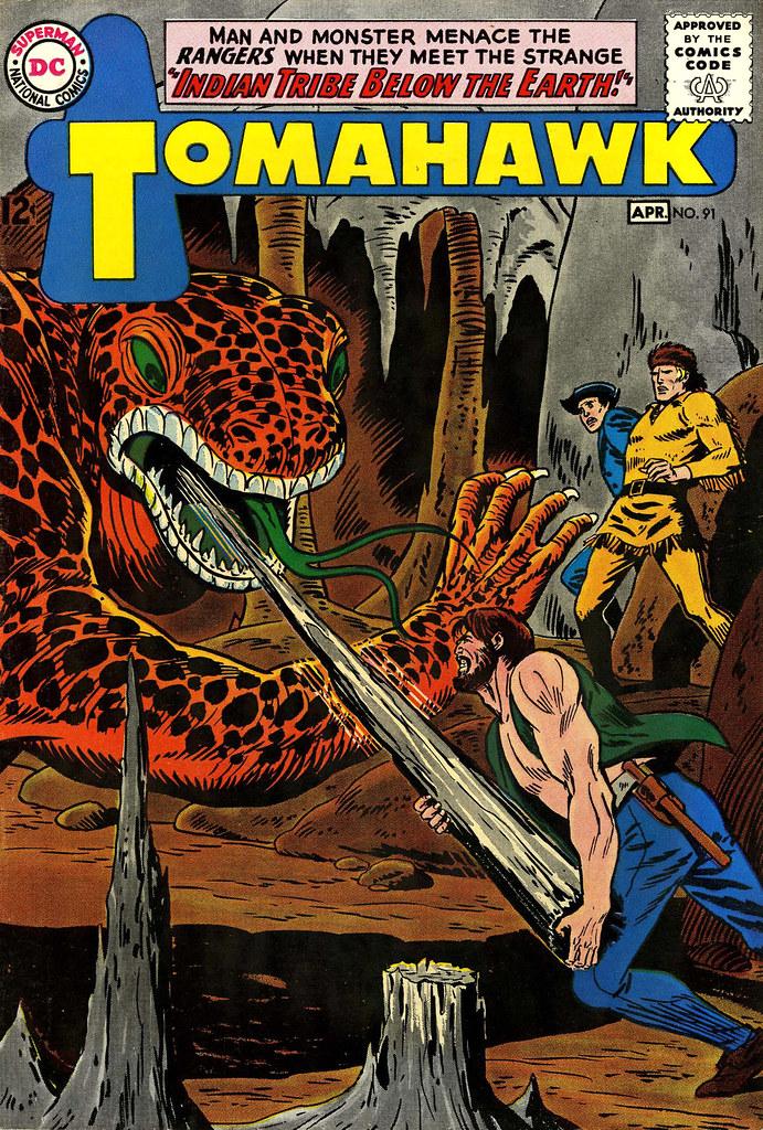Tomahawk #91 (DC, 1964)