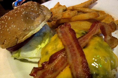 Morton's: Bacon Cheeseburger + Fries