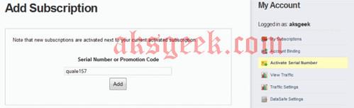 cyberghost vpn-add subscription