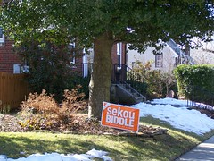 Campaign sign for Sekou Biddle