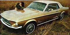 1968 Ford Mustang Coupe (coconv) Tags: pictures auto door old 2 two classic cars ford hardtop car vintage magazine advertising cards photo flyer automobile post image photos antique album postcard ad picture images advertisement vehicles photographs card photograph postcards vehicle 1968 autos mustang collectible collectors brochure coupe automobiles dealer 68 prestige