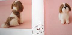 9784309282411 felt dog japanese needlefelting craft book (feltcafe) Tags: dog wool animal japanese book felting craft felt needle needlefelting feltcafejapan 9784309282411