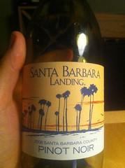 2008 Santa Barbara Landing Pinot Noir