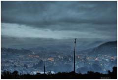HDR Image (_hUMANtORCH_) Tags: nikon nuvole image case luci pioggia strade hdr paesaggio sera citt palazzi immagine nuvoloso isoladelliri d3000