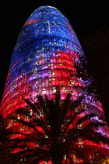 torre agbar (hipopotamosrosados) Tags: barcelona torreagbar agbar