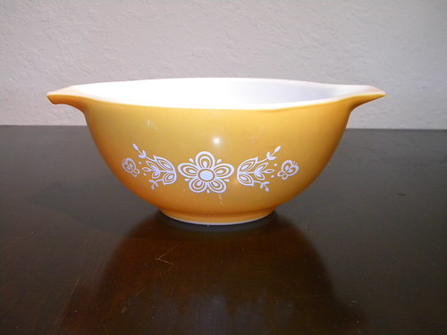 Butterfly Gold I Cinderella Mixing Bowl - *For Trade*