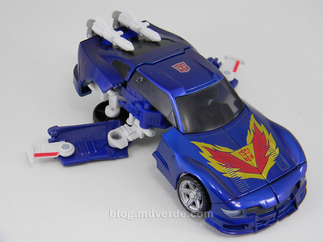 Transformers Tracks United Deluxe - modo alterno