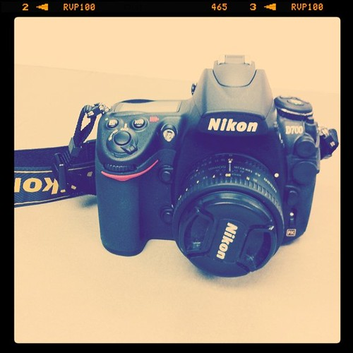 Project 365 65/365: It is love at first site with my new Nikon D700...#photography