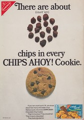 1967 Chips Ahoy! Ad (vintage-mouse) Tags: food vintage advertising 60s cookie ad advertisement 1960s chipsahoy nabisco