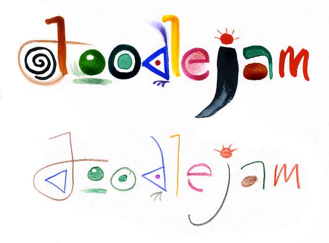 doodlejam lettering