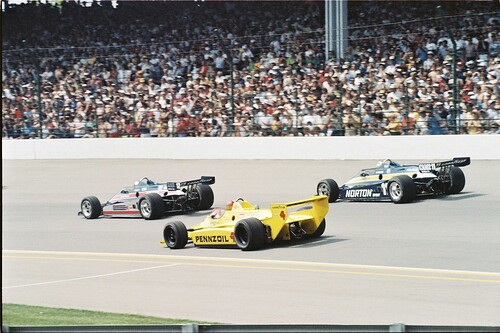 Headed into the Start of the 1980 Indianapolis 500