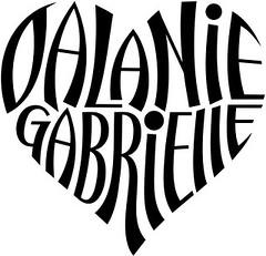 """""""Dalanie"""" & """"Gabrielle"""" Heart Design"""