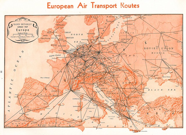 Rutas aéreas europeas (1935-1936)