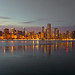 Panorama of Chicago Skyline