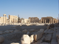 Temple of Bel at Palmyra, Syria.