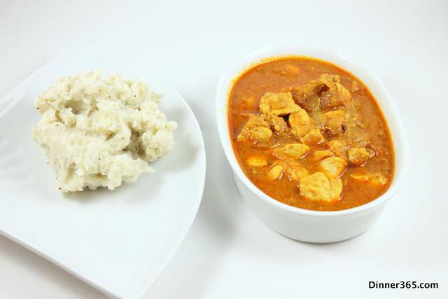 Day 69 - Chicken Tikka Masala and Mashed Potatoes