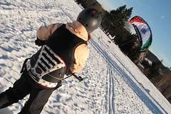 Snowkiting: Jak si zapřáhnout vítr na sněhu