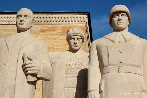 Anıtkabir Statues