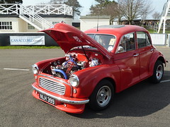 Morris Minor (f1jherbert) Tags: westsussex morrisminor morris minor goodwood autocars goodwoodbreakfastclub taxfreesunday pre1973cars goodwoodwestsussex goodwoodmotorciruit morrismarinapolicecar