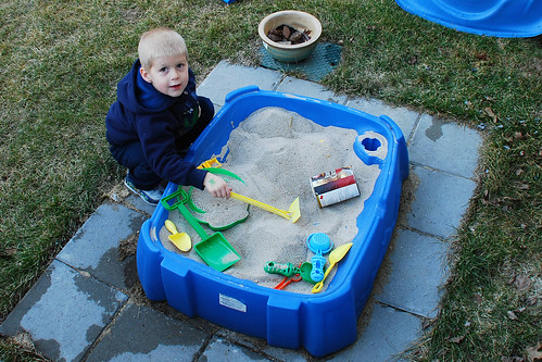 First Sandbox Play of the Season
