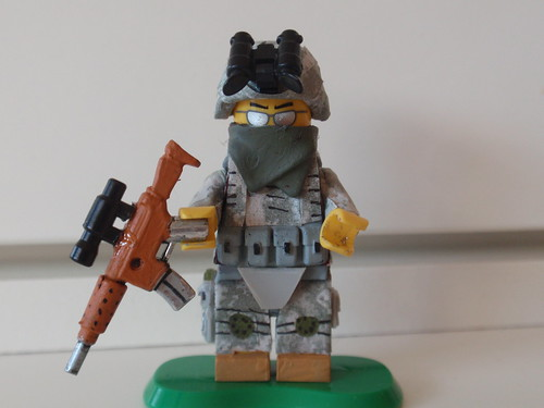 Custom minifig US Army Ranger custom lego minifigure