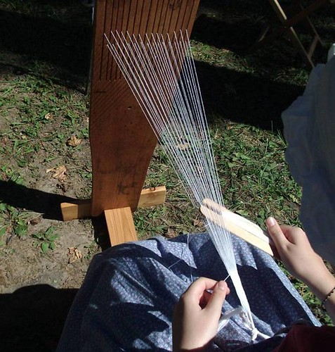 1680's reproduction tape loom